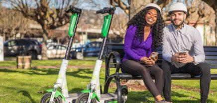 In der Uber-App kann man nun auch die E-Roller von Lime buchen