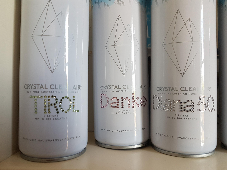 Crystal Clear Air, Daniel Kamil, Luft, Swarovski, Wattens, China, Souvenir, Air