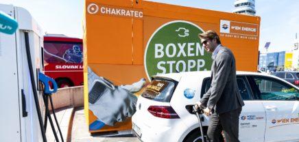 Wien Energie testet mit Startup entwickelte E-Auto-Highspeed-Ladestellen