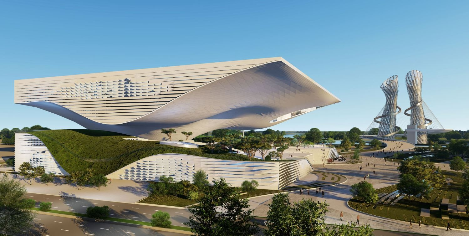 Atmos Aerosol Research und Coop Himmelb(l)au: Großprojekt in China