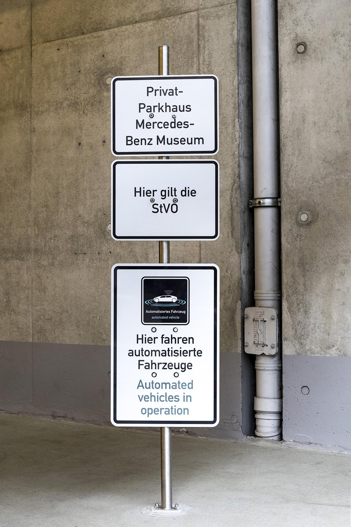 Daimler und Bosch: Deutsche Behörden genehmigen fahrerloses Ein- und Ausparken