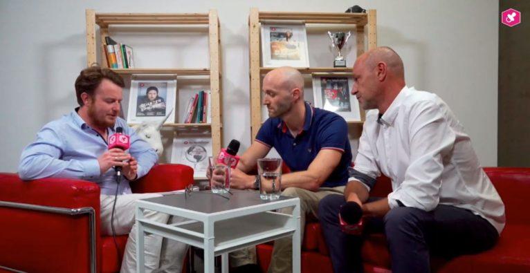 Dominik Perlaki interviewt Roland Fink und Christoph Schreiner von niceshops