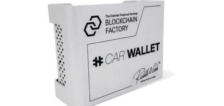 Wiener riddle&code baut Blockchain-Hardware-Lösung für Daimler