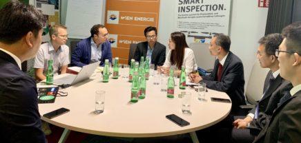Hochrangige Delegation aus China zu Gast im weXelerate