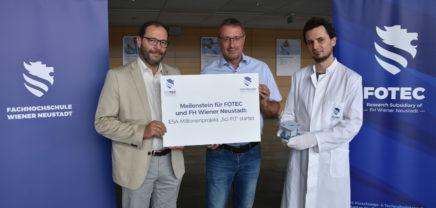 2 Millionen Euro ESA-Förderung für Ionenantrieb aus Wiener Neustadt