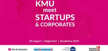 der brutkasten vernetzt KMU, Startups und Corporates in einer Roadshow