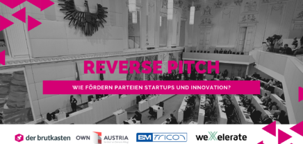 Reverse Pitch – wie fördern Parteien Startups und Innovation?