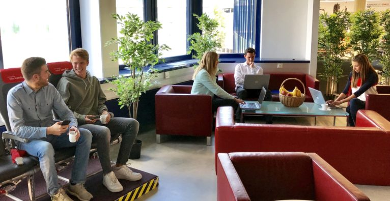 AirportCity Space: Einblick in den neuen Co-Working Space am Flughafen Wien