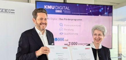 KMU Digital: 4 Mio. Euro für Neuauflage fixiert