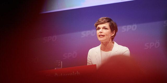 SPÖ-Spitzenkandidatin Pamela Rendi-Wagner