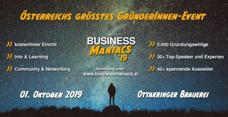Business Maniacs 2019 | #weilichskann