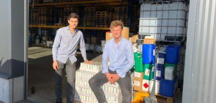 Ayoka: Die Gründer Philip Lanz und Sebastian Raber mit ihrem 5-HTP-basierten