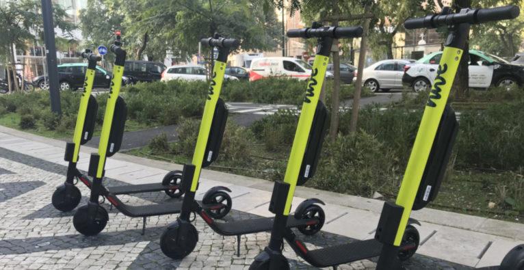 hive, e-scooter, Innsbruck