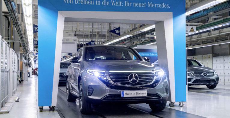 Daimler: Der Mercedes-Benz EQC ist das erste serienmäßige E-Auto von Mercedes