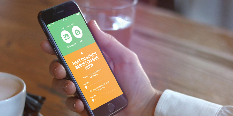 McDonalds Bewerbung Job App