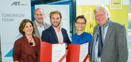 AIT Poster Award: digitale Gerüche und geringere Stromkosten für alle