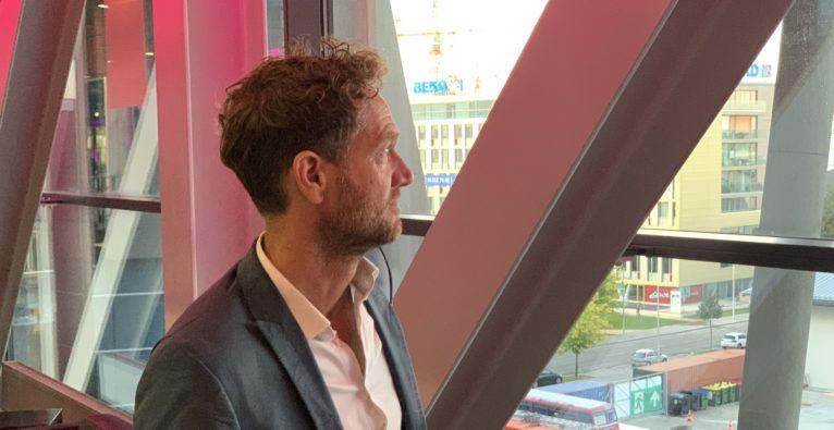 Fairphone-Gründer Bas van abel zu Besuch in Wien