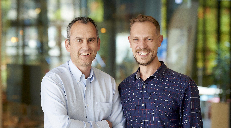 Michael Müller und Thomas Kriebernegg: Investment für App Radar
