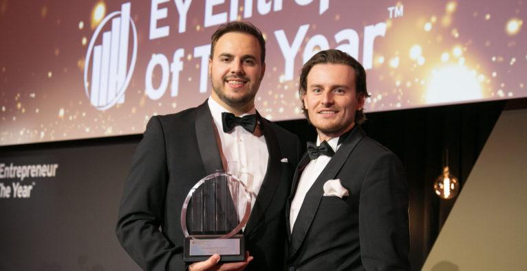EY Österreich: Die Bitpanda-Gründer Paul Klanschek und Eric Demuth sind Startup-Entrepreneurs of the Year 2019