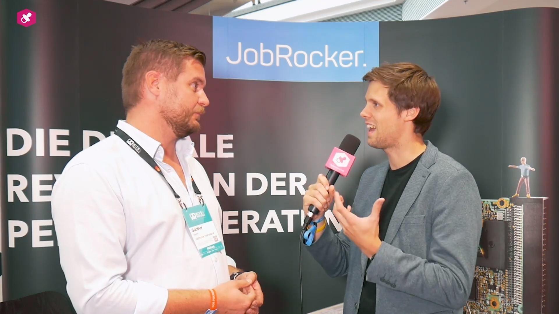 Günther Strenn von JobRocker