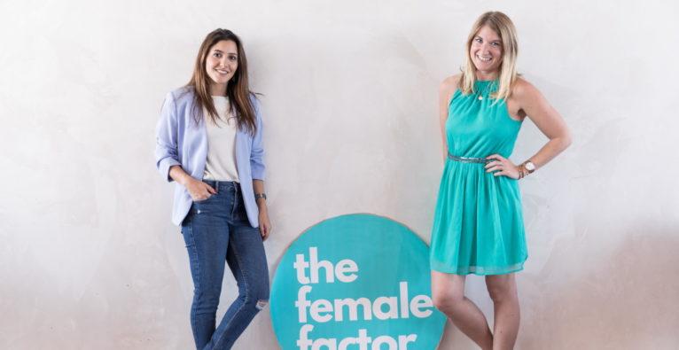 Mahdis Gharaei und Tanja Sternbauer, Gründerinnen von the female factor
