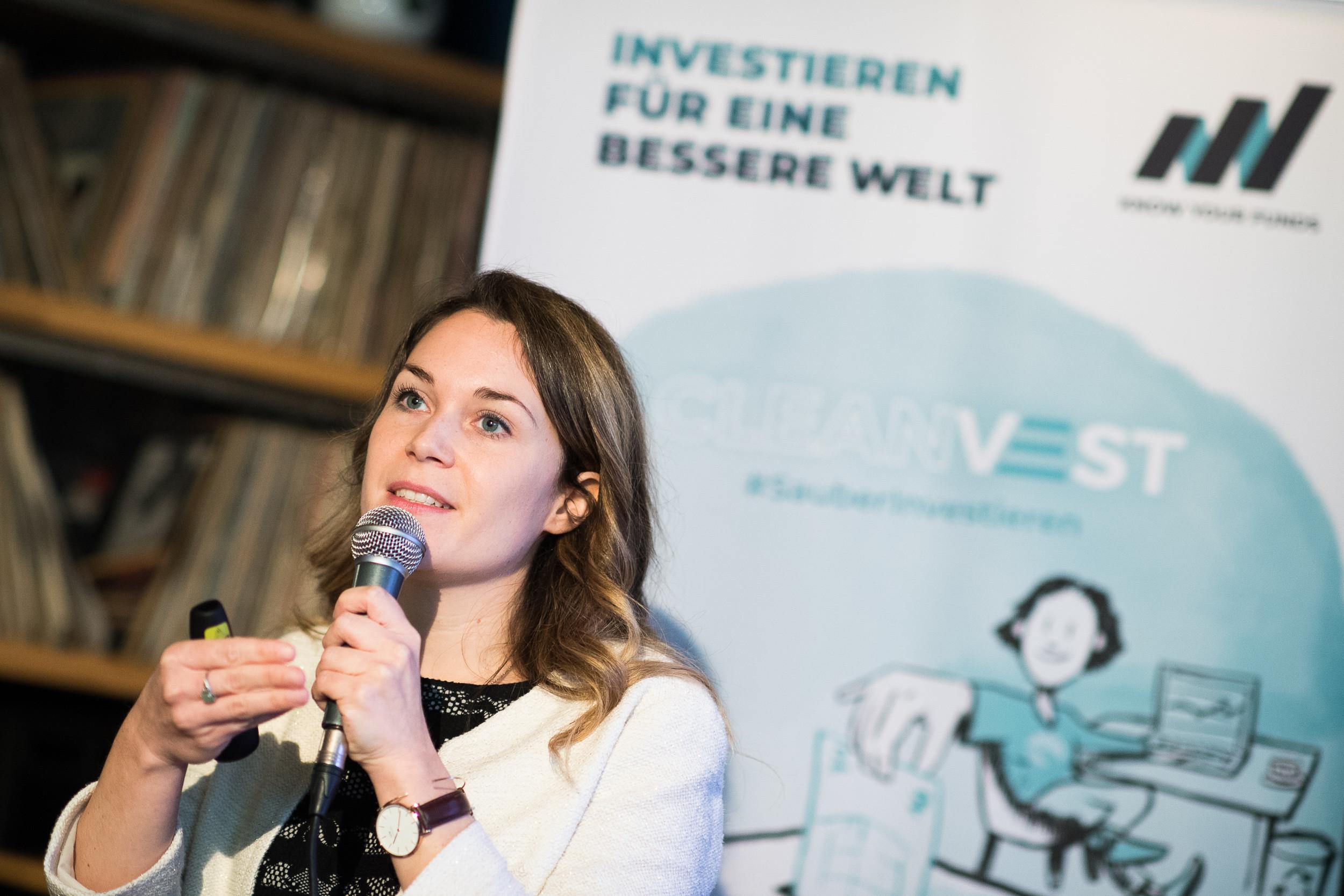 Cleanvest COO Elisabeth Müller