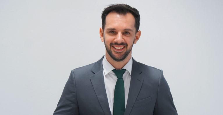 Amadeo: Geschäftsführer Parim Sylejmani präsentiert i-KNOB