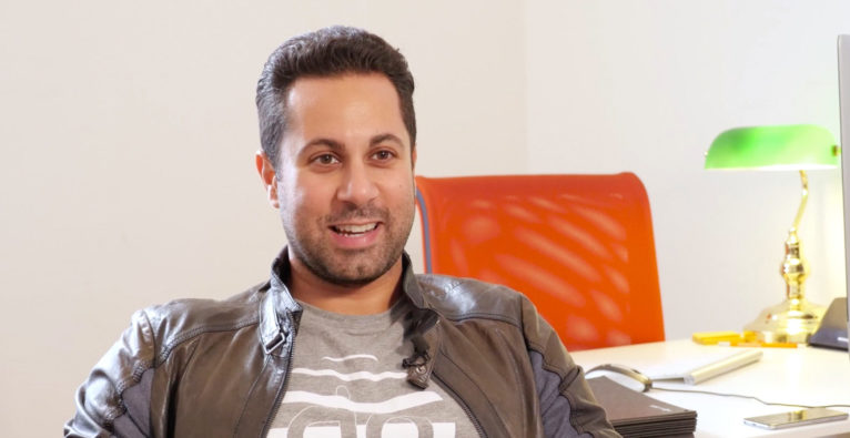 Jubin Honarfar, CEO von whatchado