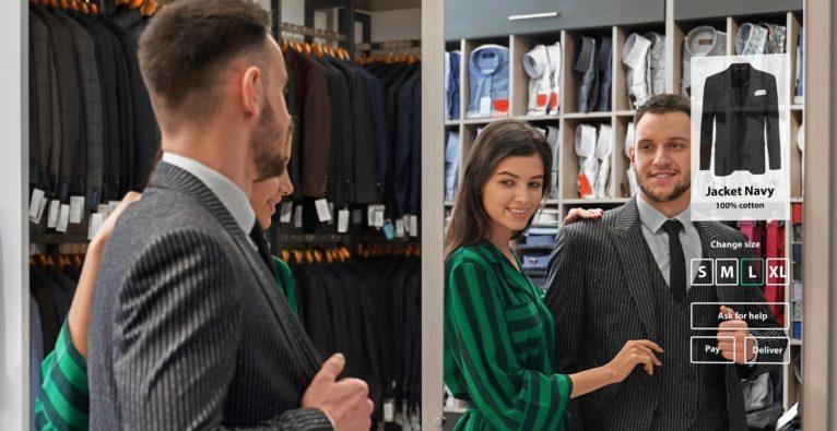 Hello Mirrors: So sieht der Einsatz im Mode-Einzelhandel aus
