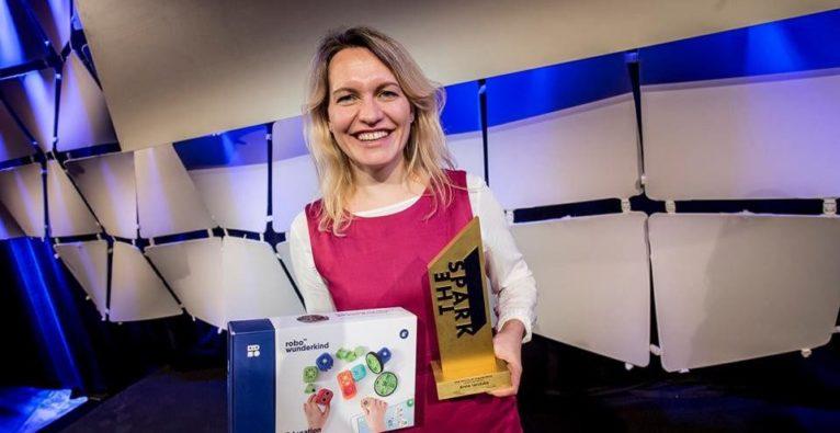 Robo Wunderkind-Gründerin Anna Iarotska