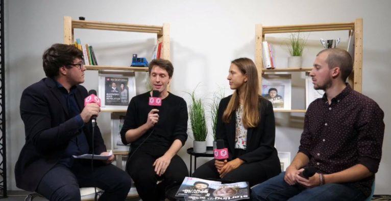 Markus Raunig, Hannah Wundsam und Stefan Lixl von AustrianStartups über Circle17