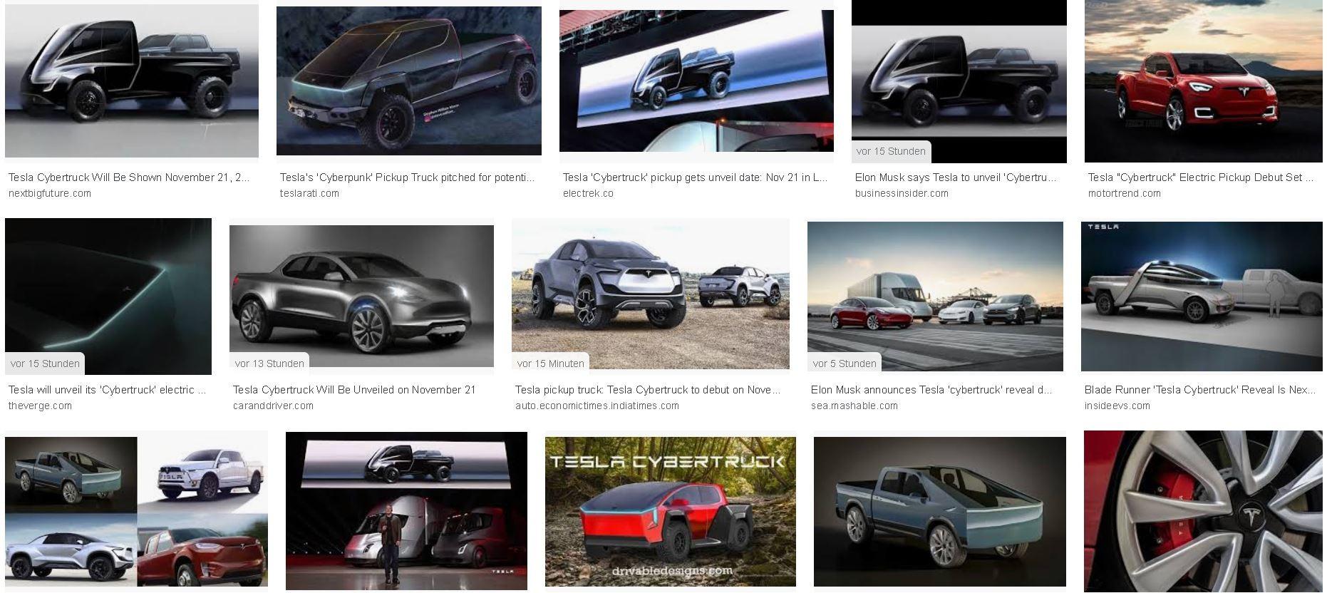 Tesla Cybertruck: im Internet kursieren zahlreiche Spekulationen über das Design