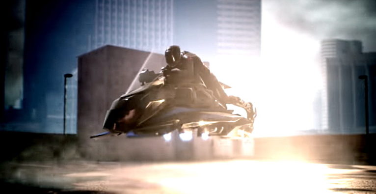 "Rendering des ""Speeder"" in einem Promo-Video von JetPack Aviation - Screenshot"