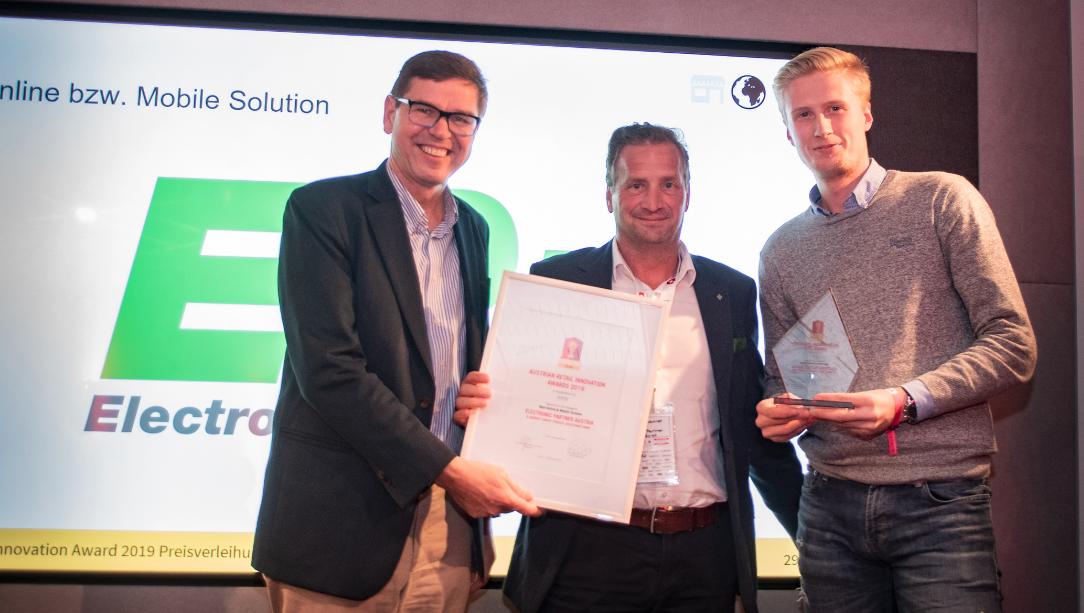 Warrify, Austrian Retail Innovation Award, Ep, Electronic Partner, Simon Hasenauer