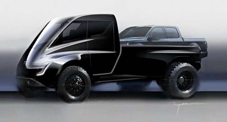 "Cybertruck: Tesla-Pickup als ""gepanzerter Personentransporter aus der Zukunft"""