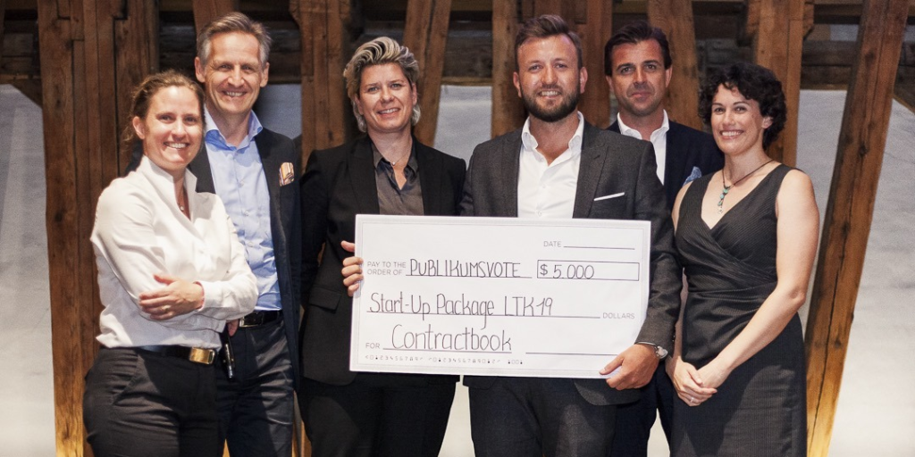 LTHV Startup Contractbook mit Google-Investment