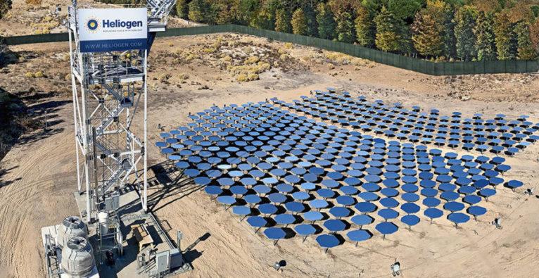 Heliogen, Solarenergie, Bill Gates, konzentrierte Sonnenenergie, Zement