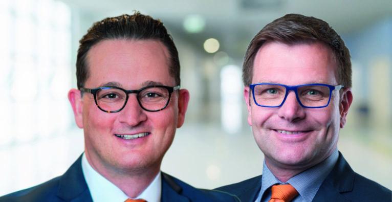 Die Maklergruppe: Matthias Lindenhofer und Rainer Vogelmann übernehmen die Geschäftsführung von wefox Austria.