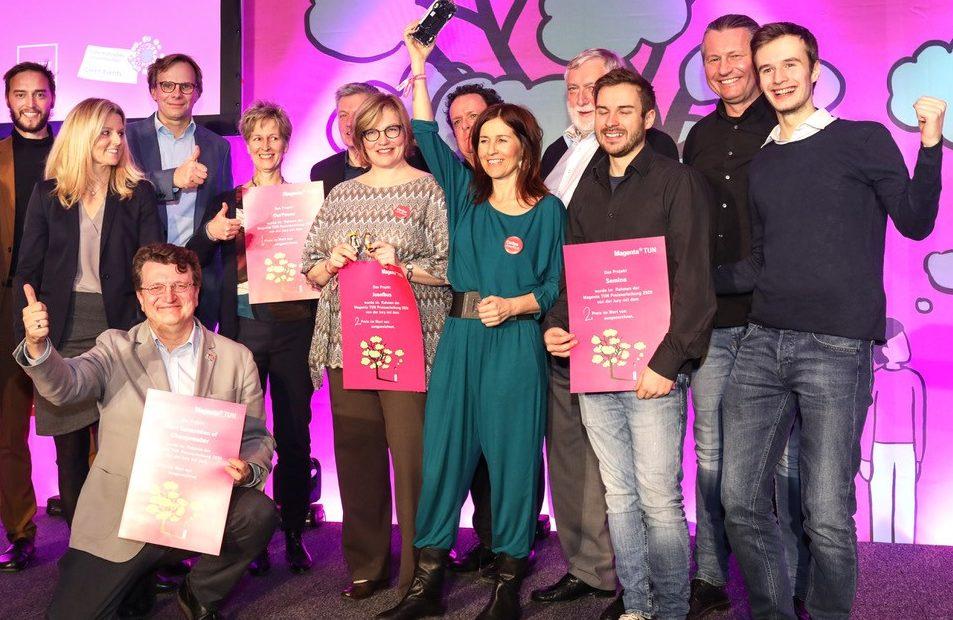 TUN, Magenta, TUN-Magenta, Franz Fischler, Award, OurPower, Josefbus, Walleczek, Bierwirth, Telekom, Nachhaltigkeit, nachhaltig