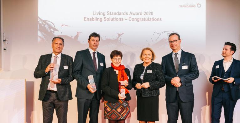 Grazer E-Mobility-Startup Easelink holte sich den Living Standards Award
