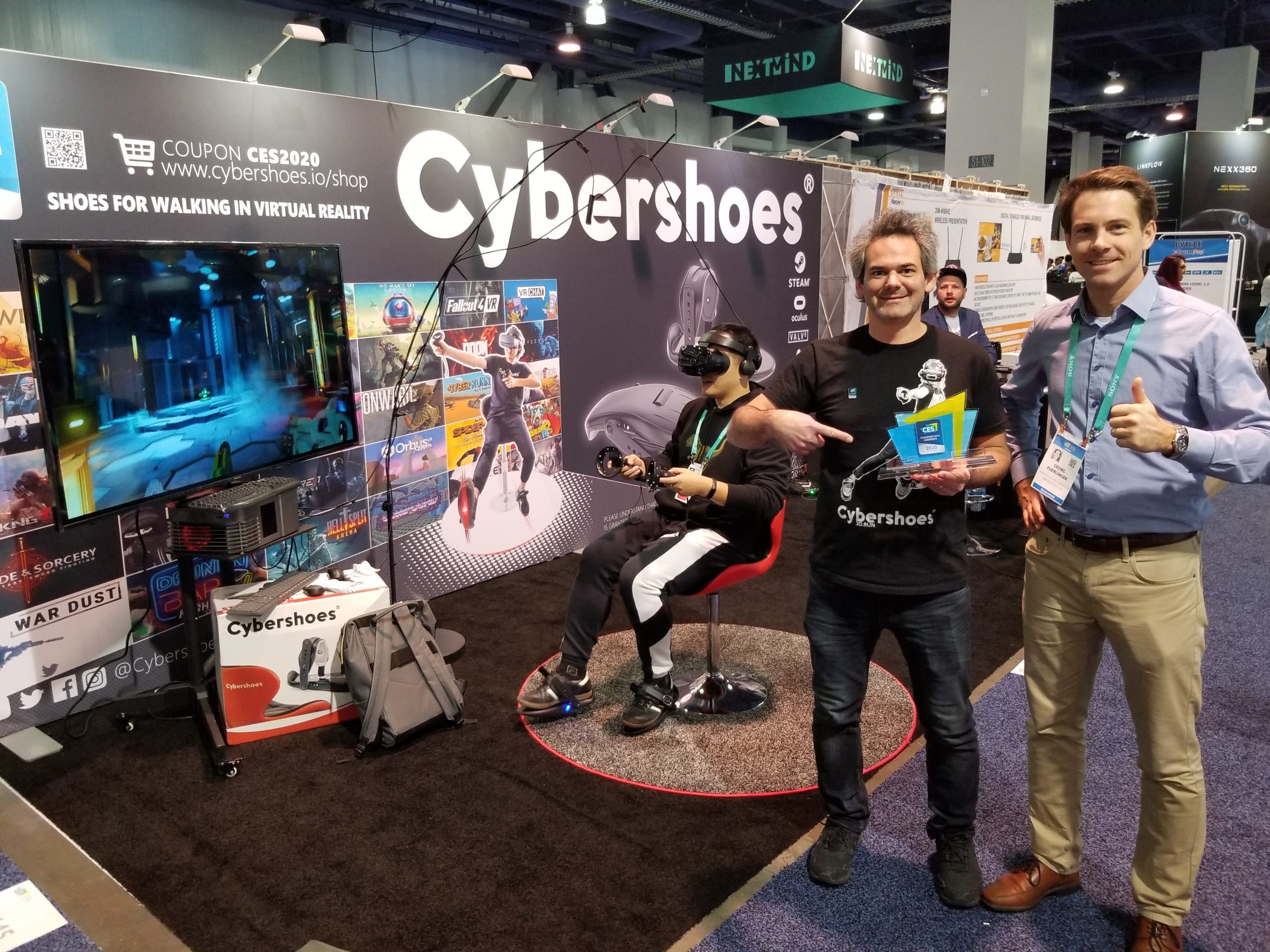 Cybershoes auf der CES 2020
