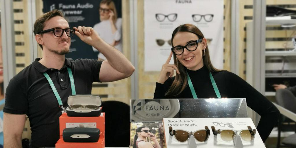 Fauna, wearable, Wearable, USound, Graz, Brille, Musik, Lautsprecher