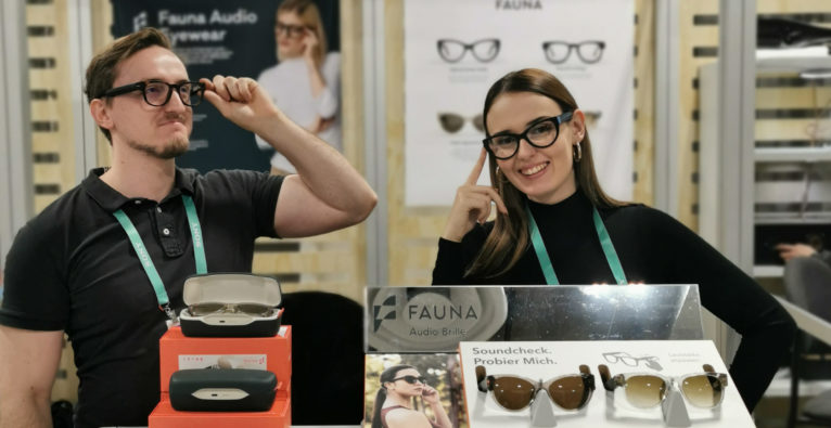 Fauna, wearable, Wearable, USound, Graz, Brille, Musik, Lautsprecher