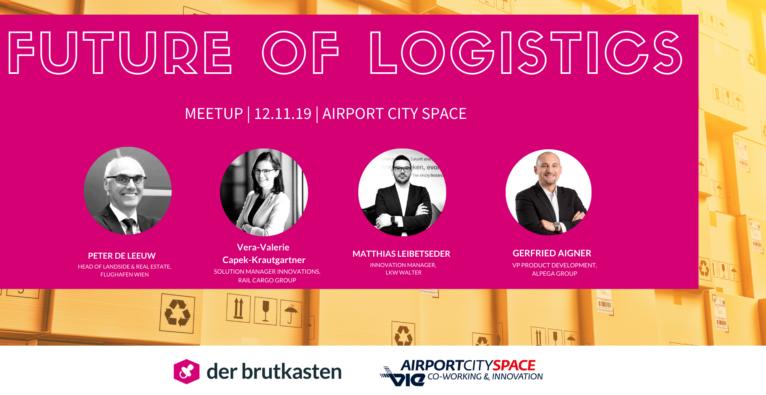 future of logistics - brutkasten meetup