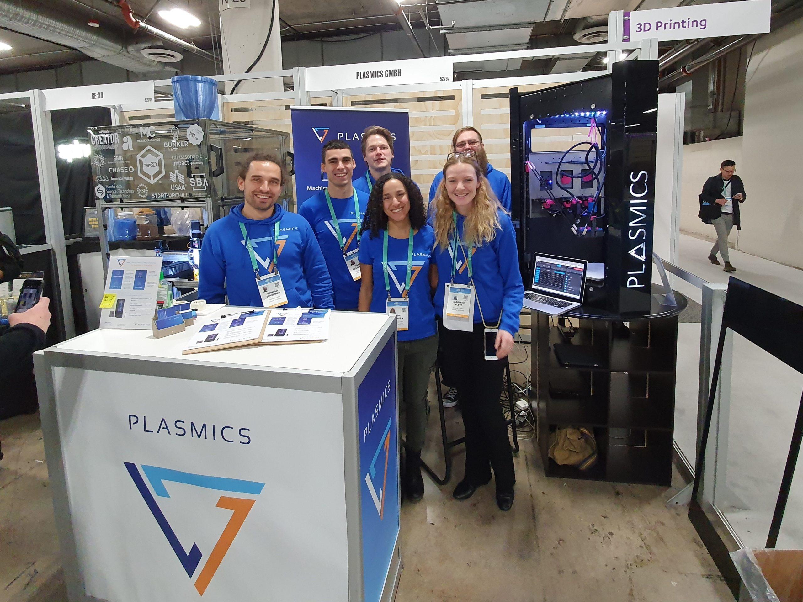 Plasmics: Das Team des 3D-Druck-Startups