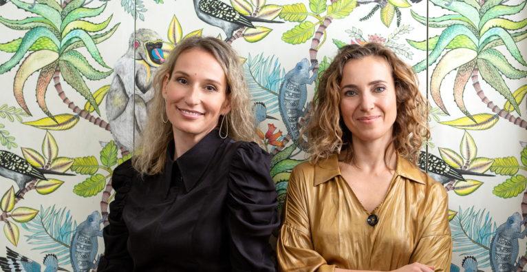 Die Startaparat-Gründerinnen Helena Rosandic-Sepic und Tanja Skoric