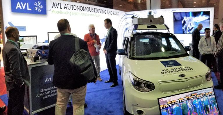 AVL war eines der österreichsichen Unternehmen auf der CES 2020