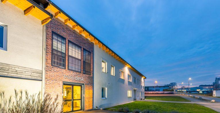 easydesk: So sieht der neue Co-Working-Space in Mattersburg von außen aus.