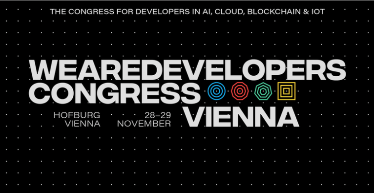 WeAreDevelopers Congress 2019 AI, Cloud, Blockchain & IoT