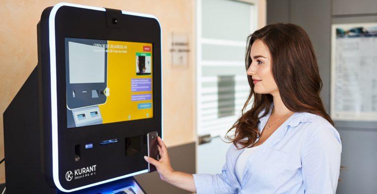 Bitcoin, ATM, Bitcoin-ATM, Bitcoin-Automat, Bitcoin-GeldautomatBitcoin-Automat von Kurant